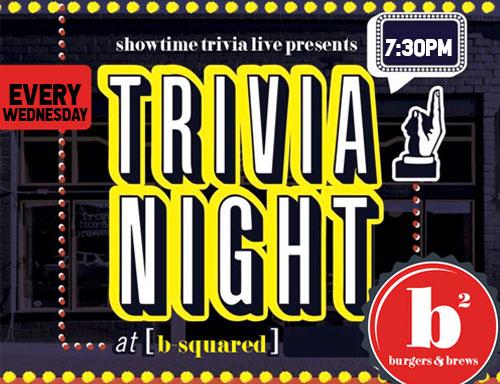 trivia night every wednesday