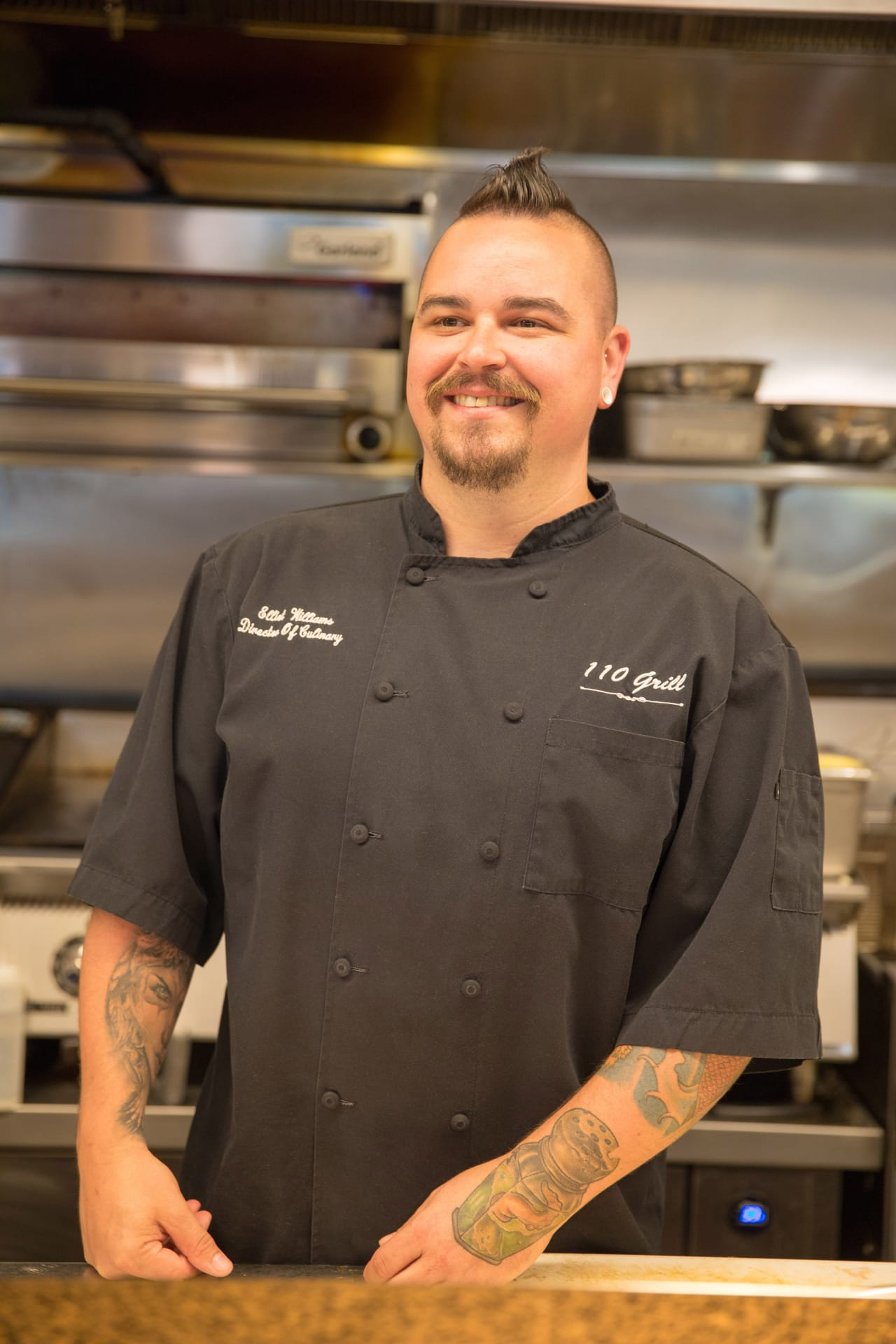 Meet Elliot Williams, Director of Culinary