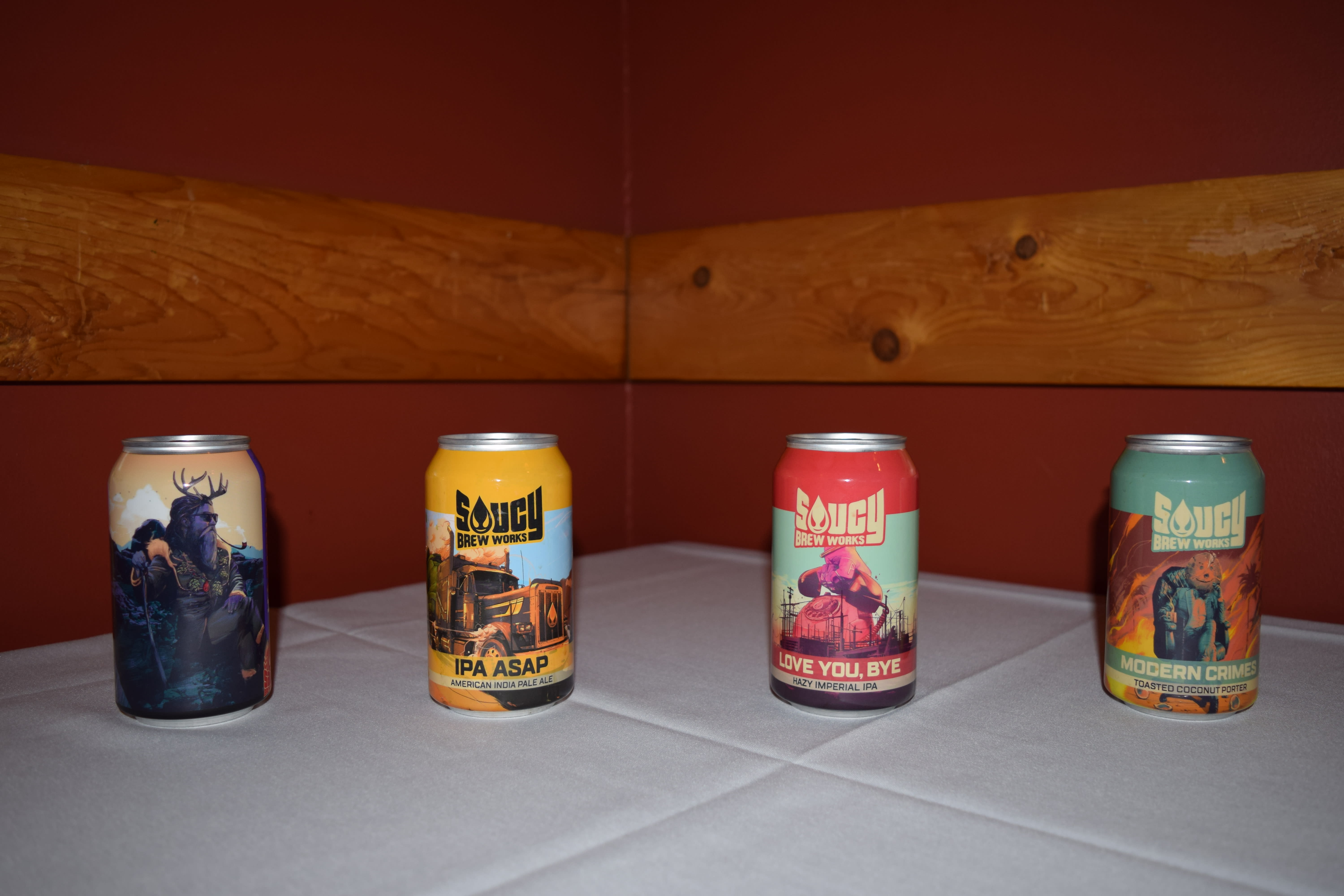 Saucy Brew Works Beer Dinner