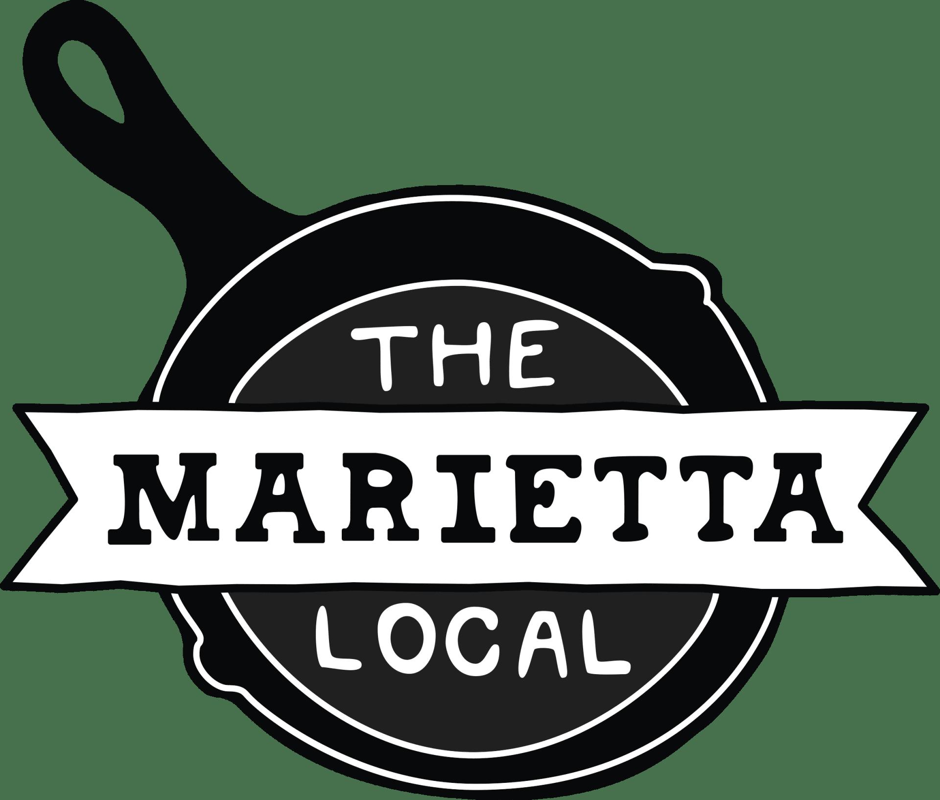 the marietta local logo