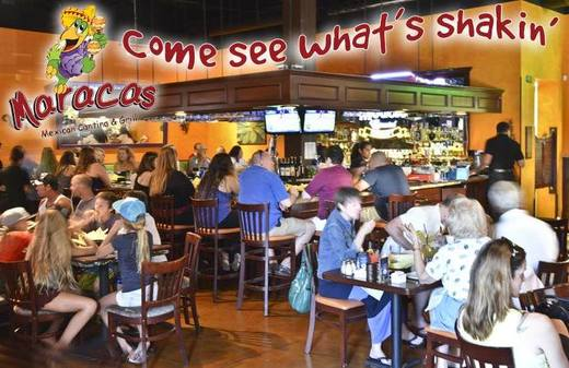 come see what's shakin' at maracas