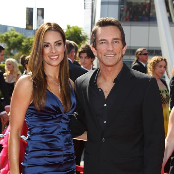 Jeff Probst & Lisa Russell
