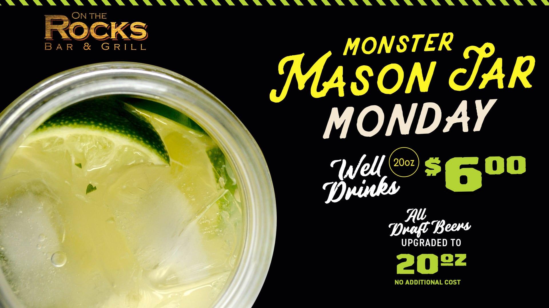 Monster Mason Jar Monday