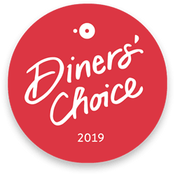 open table diner's choice award 2019