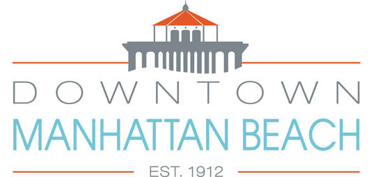 downtown manhattan beach city logo