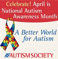 Autism Awareness Month flyer