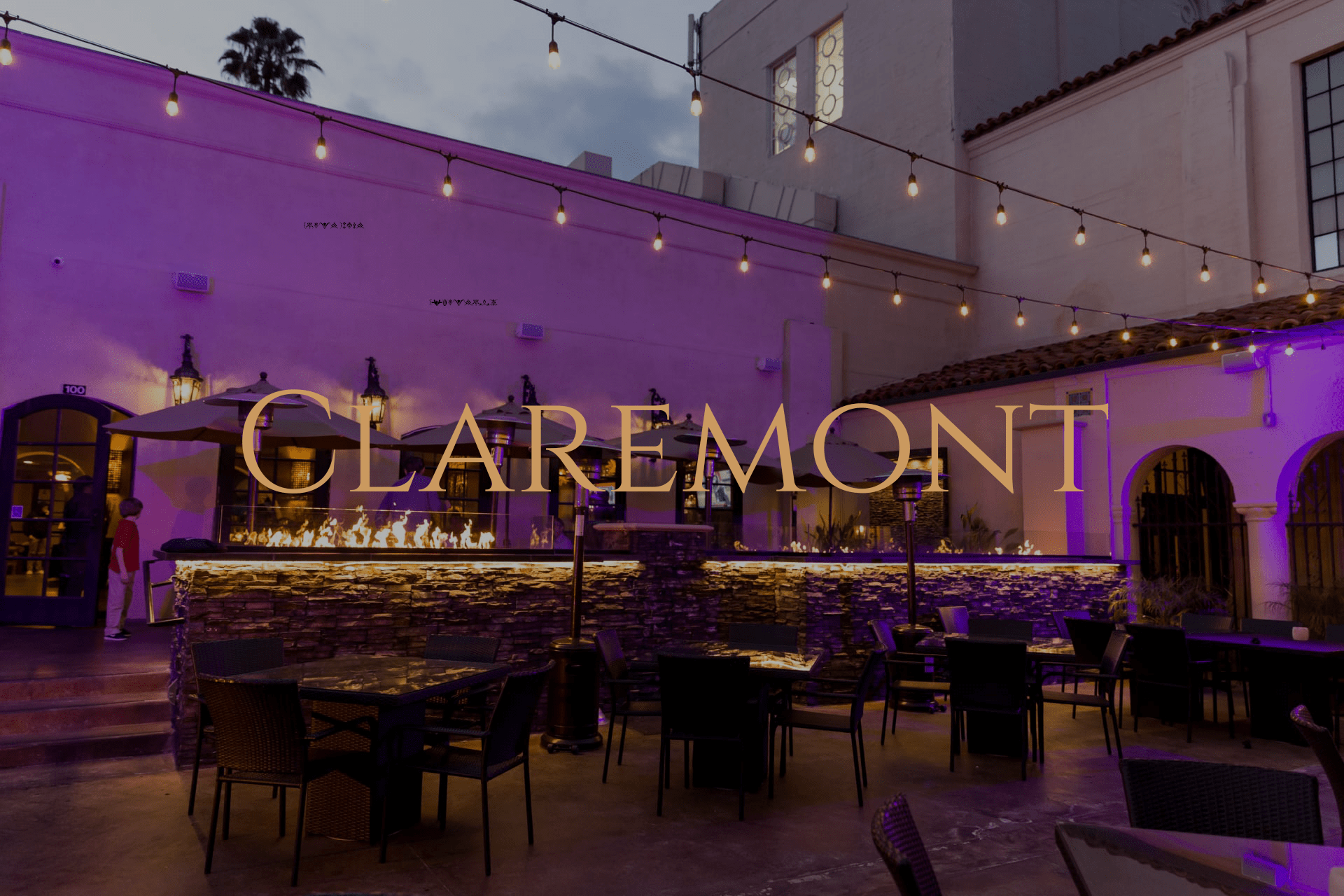 view the claremont menu