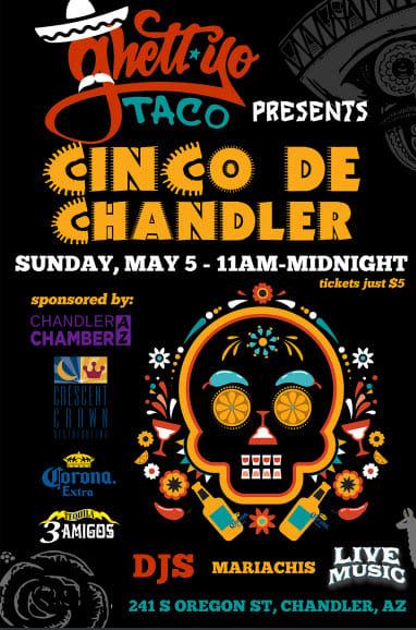 Cinco De Mayo Party - Sunday 5/5 11 am - midnight