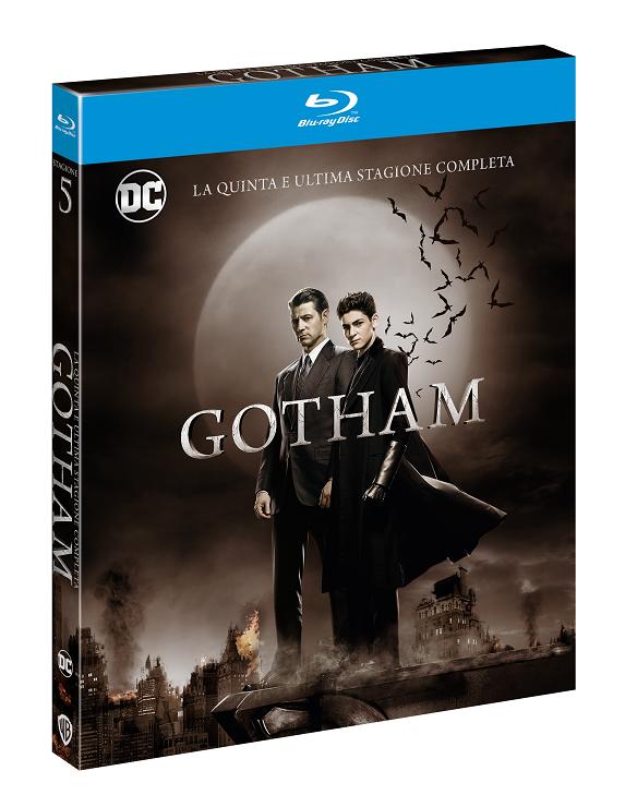 GOTHAM dal 12 novembre la quinta stagione in DVD e Blu-Ray | In arrivo anche