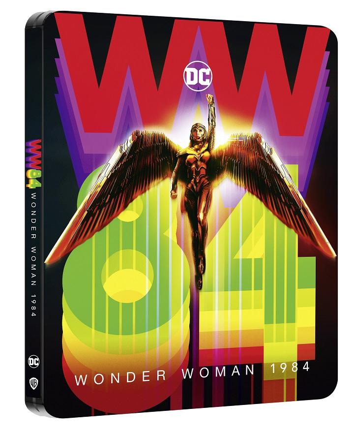 WONDER WOMAN 1984 dal 12 marzo in DVD, Blu-Ray, 4K e Steelbook 4K | Aperto il pre-order