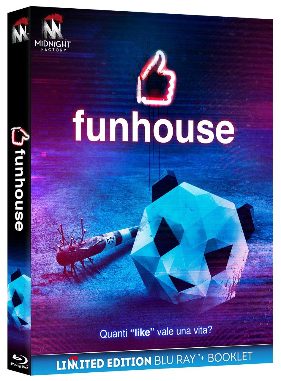 FUNHOUSE - DA OGGI DISPONIBILE IN DVD E BLU-RAY LIMITED EDITION