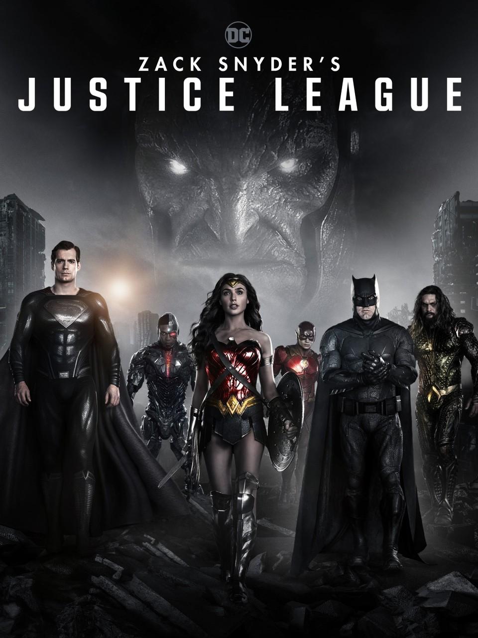 ZACK SNYDER'S JUSTICE LEAGUE arriva in DVD, Blu-Ray e 4K dal 27 maggio e dal 22 Aprile in digitale