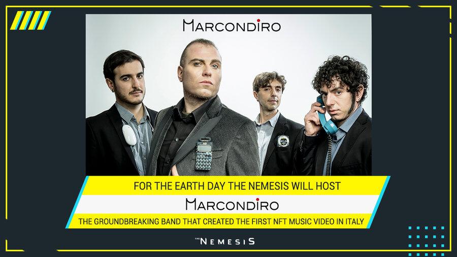 Marcondiro live on The Nemesis