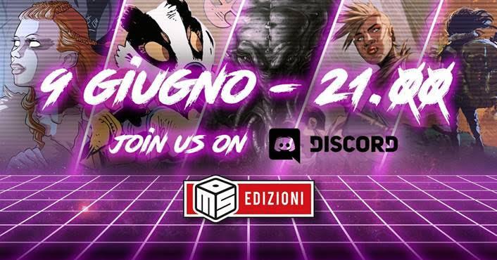 MS Edizioni apre il suo canale Discord!