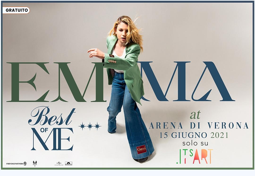 EMMA: il 6 e il 7 giugno in concerto all'Arena di Verona e gratuitamente in streaming  dal 15 GIUGNO