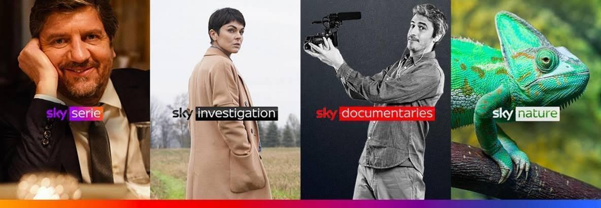 Sky presenta nuovi canali: Sky Serie, Sky Investigation, Sky Documentaries e Sky Nature