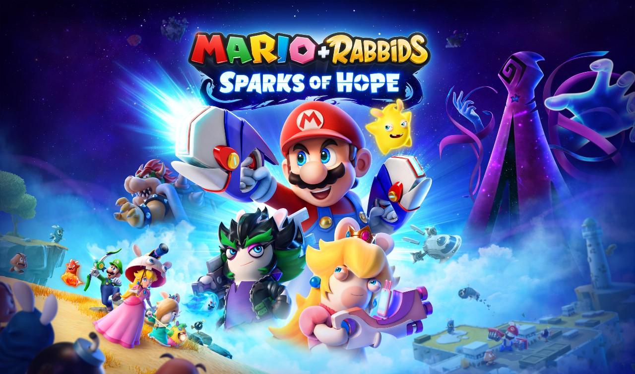 Mario + Rabbids Sparks of Hope vi invita a unirvi a un'avventura di dimensioni cosmiche