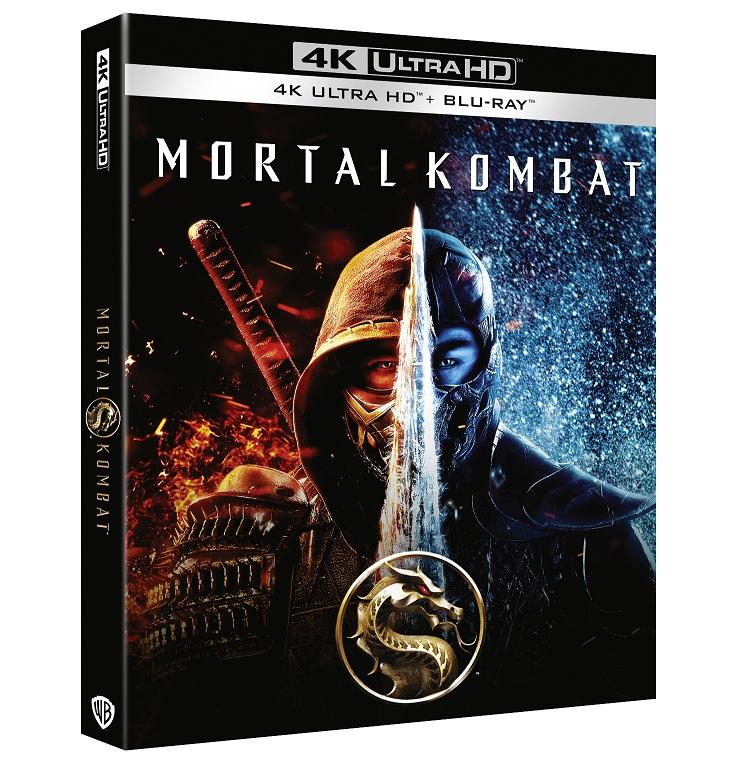 MORTAL KOMBAT da oggi in DVD, Blu-Ray, 4K e Steelbook 4K
