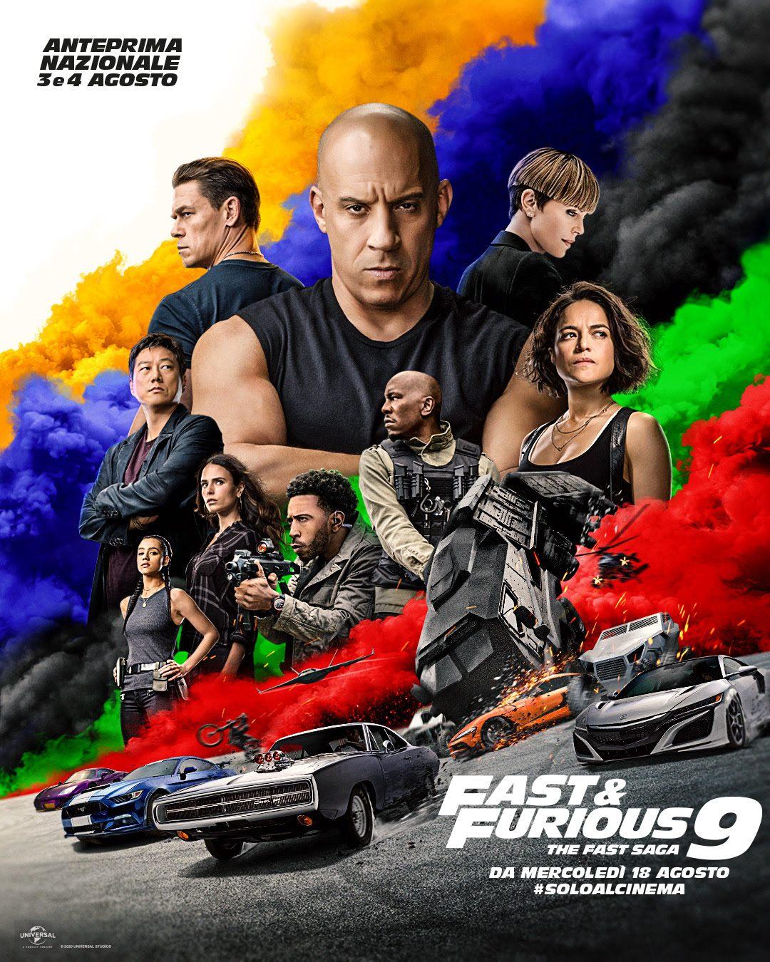 """""""Fast and Furious 9"""" - Recensione in Anteprima. Al cinema dal 18 Agosto 2021"""