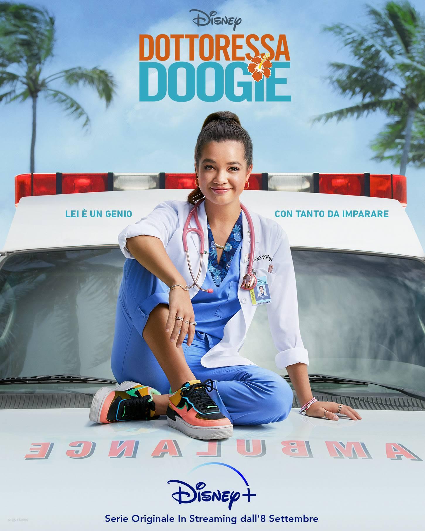 DISNEY+   DOTTORESSA DOOGIE IN ESCLUSIVA DALL'8 SETTEMBRE