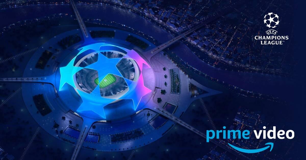 UEFA Champions League: le prime tre partite in esclusiva su Prime Video