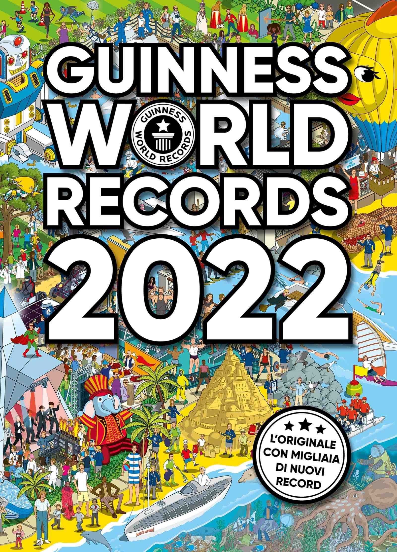 ESCE OGGI IN CONTEMPORANEA MONDIALE IL GUINNESS WORLD RECORDS 2022