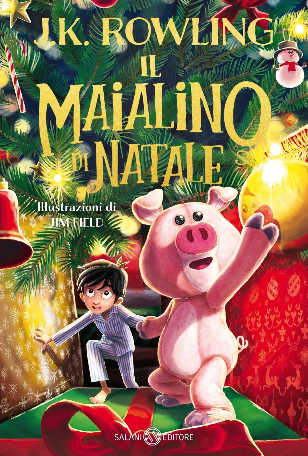 J.K. Rowling - 'Il maialino di Natale' in libreria dal 12 ottobre
