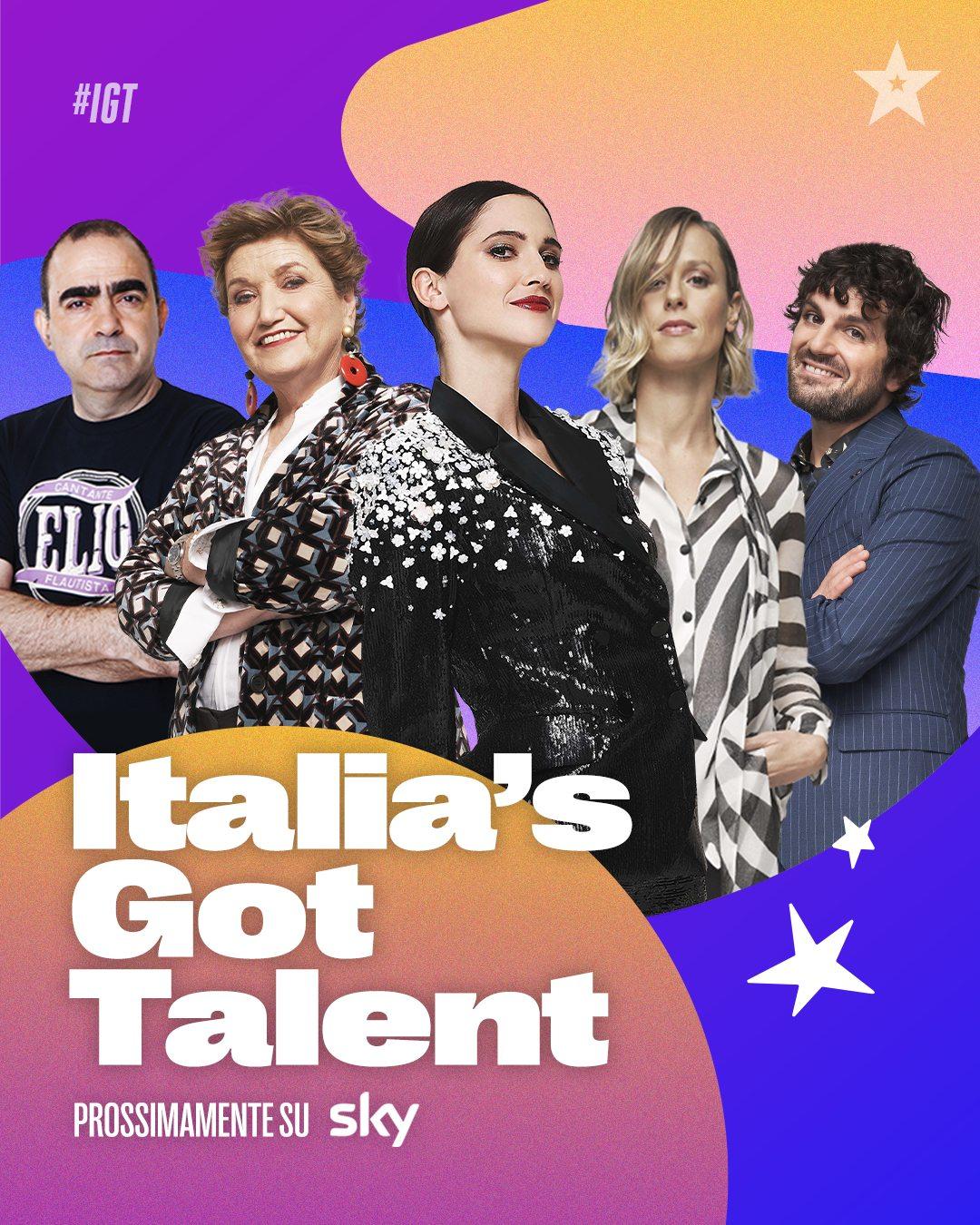 ITALIA'S GOT TALENT - A GENNAIO SU SKY E NOW