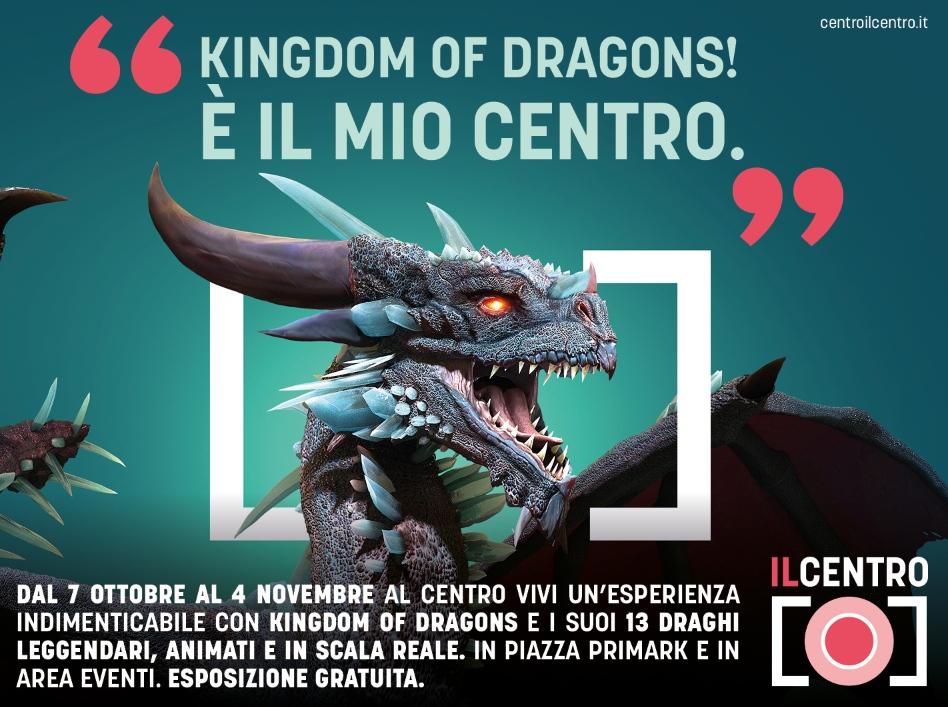 A IL CENTRO arriva Kingdom of Dragons - Un viaggio nel fuoco della leggenda