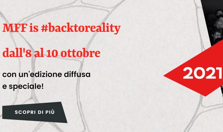 Milano Film Festival 2021 - Back to reality! Scopri il programma di MFF 2021