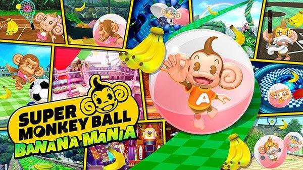 Super Monkey Ball Banana Mania è disponibile su console e PC
