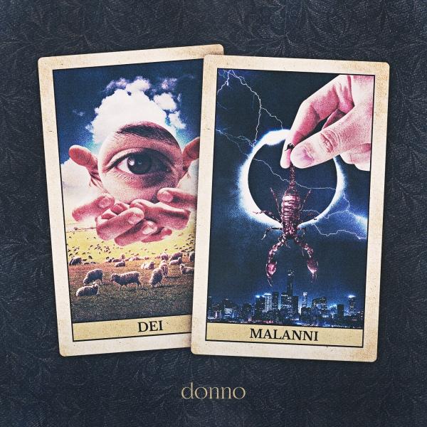 DONNO il nuovo singolo INDIGESTO tratto dall'album di debutto DEI E MALANNI