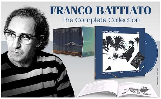 FRANCO BATTIATO THE COMPLETE COLLECTION
