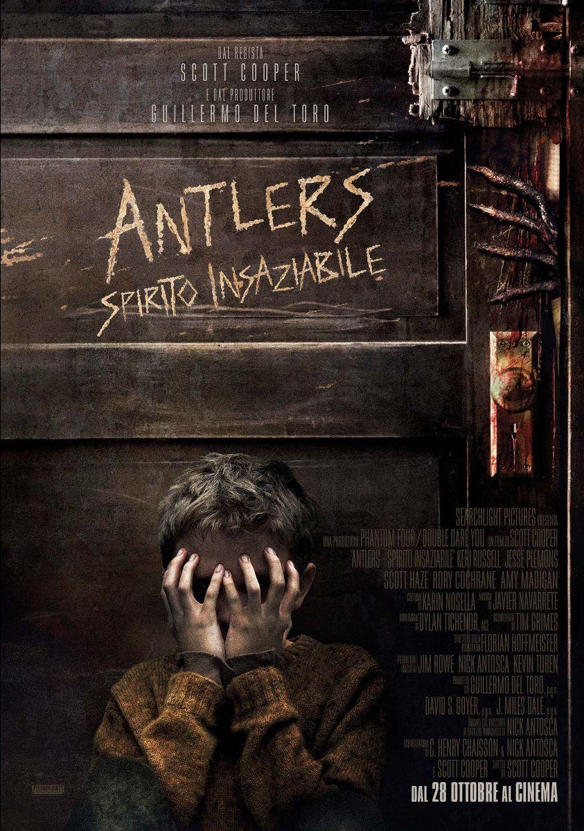 ANTLERS – SPIRITO INSAZIABILE | Primo trailer e poster | Dal 28 ottobre al cinema