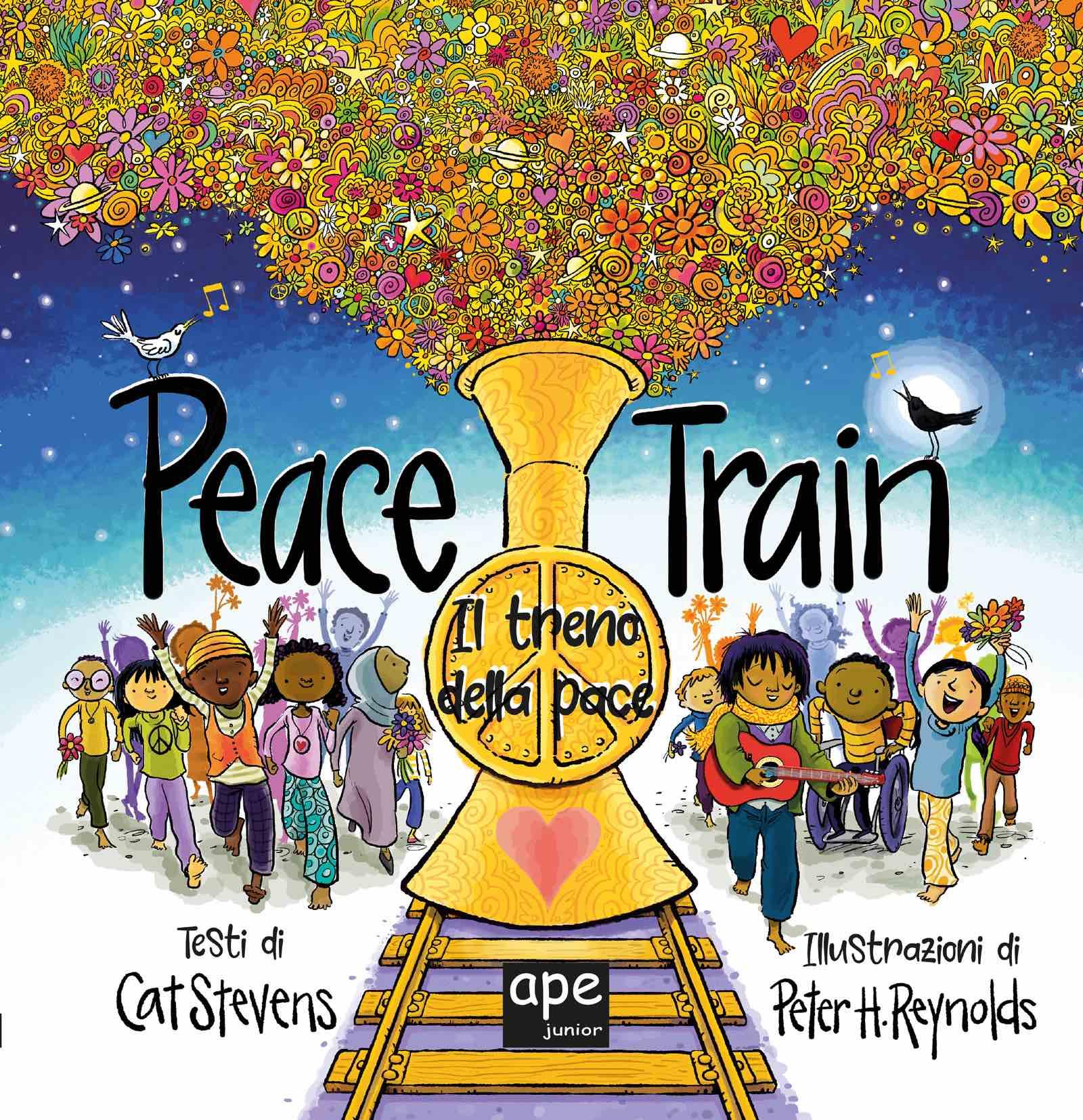 CAT STEVENS - 50 anni di Peace Train, ora un libro illustrato da Peter Reynolds dal 14 ottobre