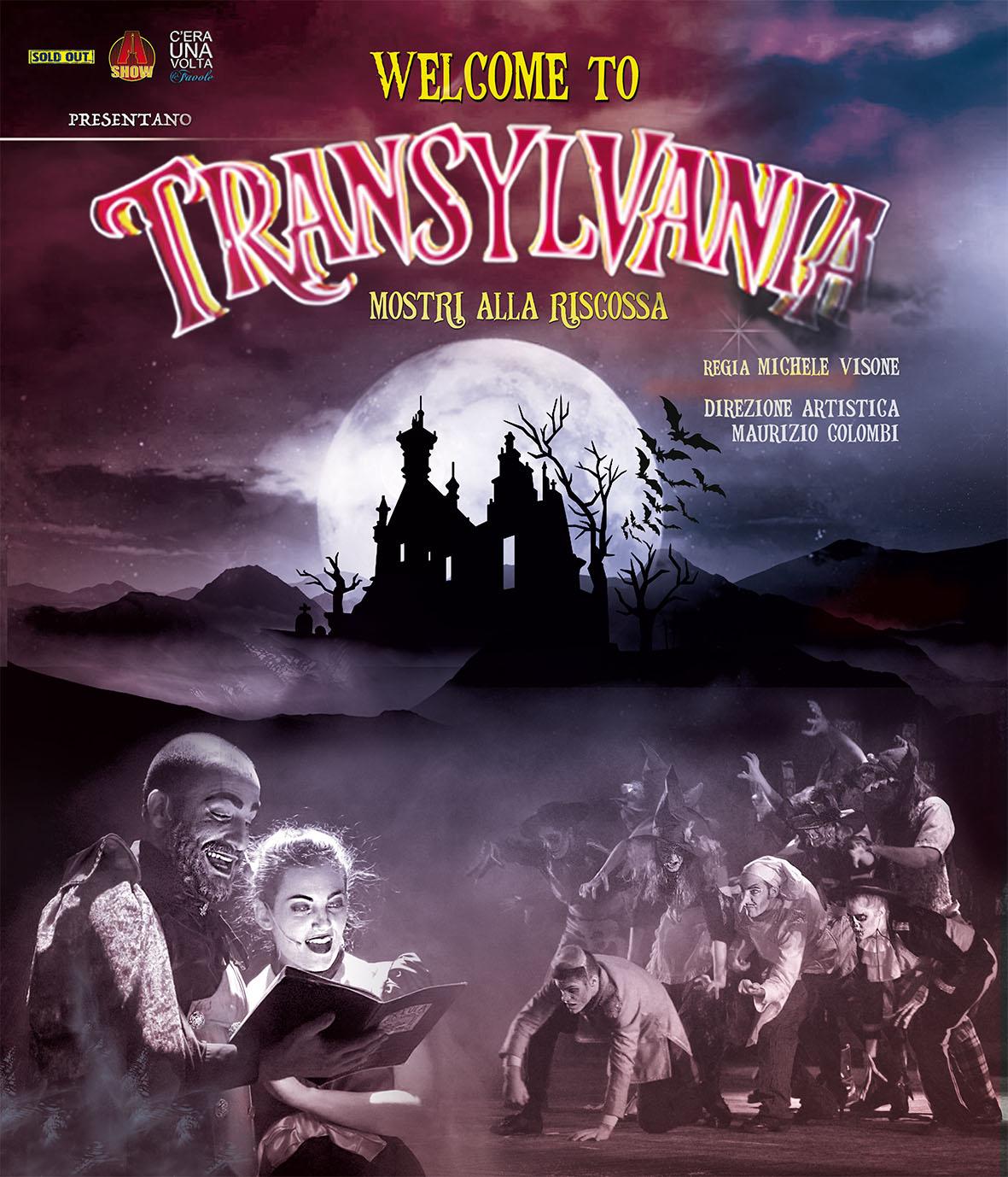 Teatro Arcimboldi - WELCOME TO TRANSYLVANIA MOSTRI ALLA RISCOSSA
