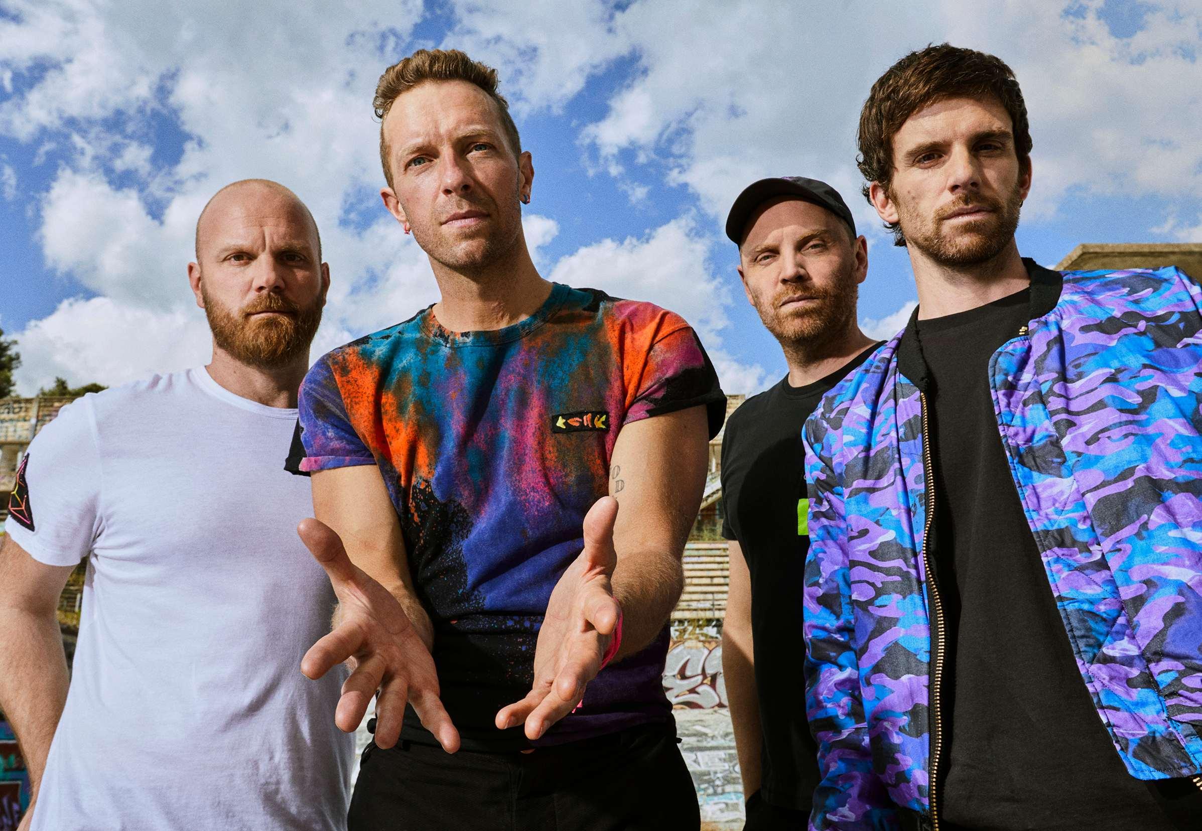 AMAZON MUSIC presenta l'esclusivo concerto dei Coldplay al Climate Pledge Arena il 22 ottobre