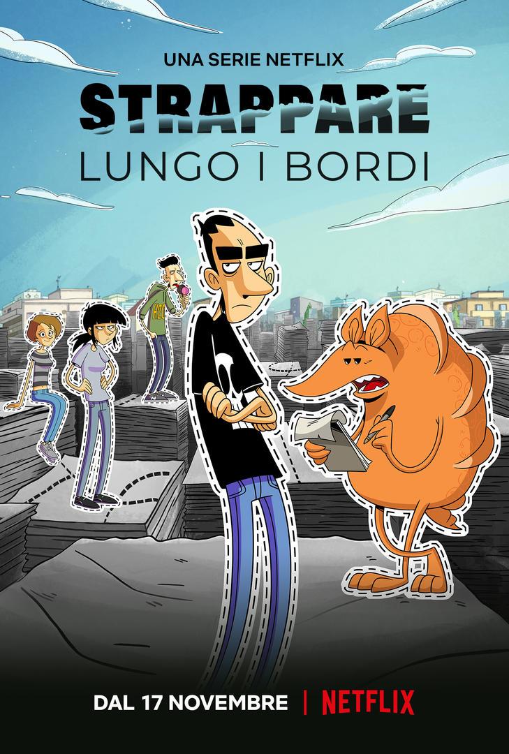 Il trailer e la locandina di STRAPPARE LUNGO I BORDI