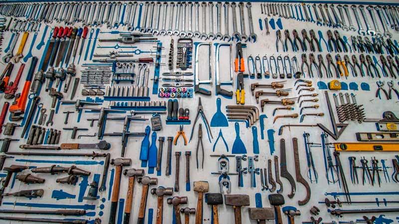 Quanto maior a sua variedade de ferramentas, mais problemas você consegue resolver.