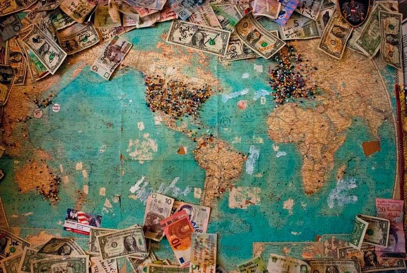 Nenhuma outra moeda no mundo tem a abrangência do dólar norte-americano.
