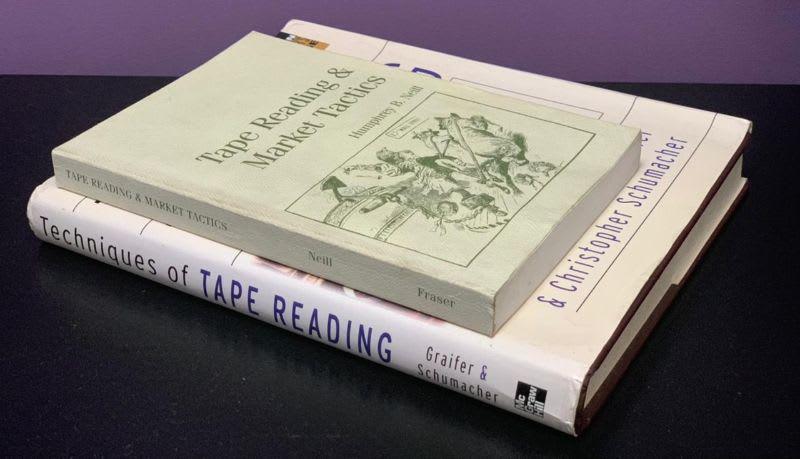 Será que os livros sobre Tape Reading ajudam?