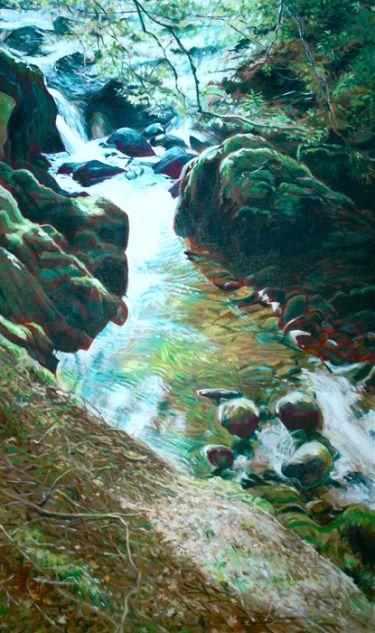 Port Appin Studio textile art: Sutherland's Grove, Barcaldine