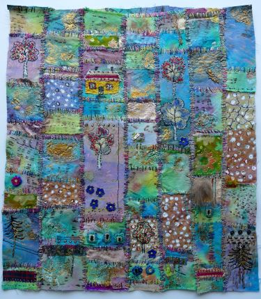 Port Appin Studio textile art: Steve's Place