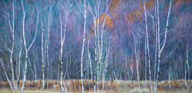Port Appin Studio textile art: Elleric Birches