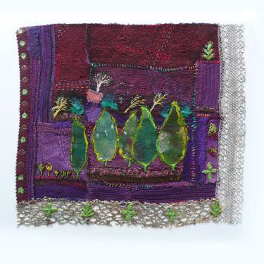 Port Appin Studio textile art: Cyprus & Lace