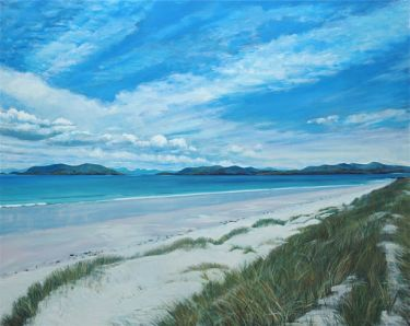Port Appin Studio textile art: Lingay Strand, N.Uist