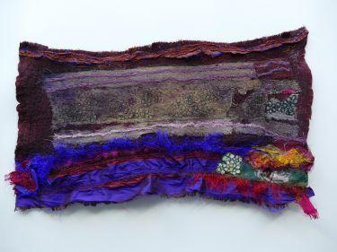 Port Appin Studio textile art: Purple Rain