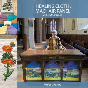 Port Appin Studio textile art: Healing Cloth & Machair Panel book