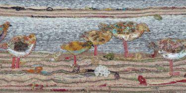 Port Appin Studio textile art: Balranald
