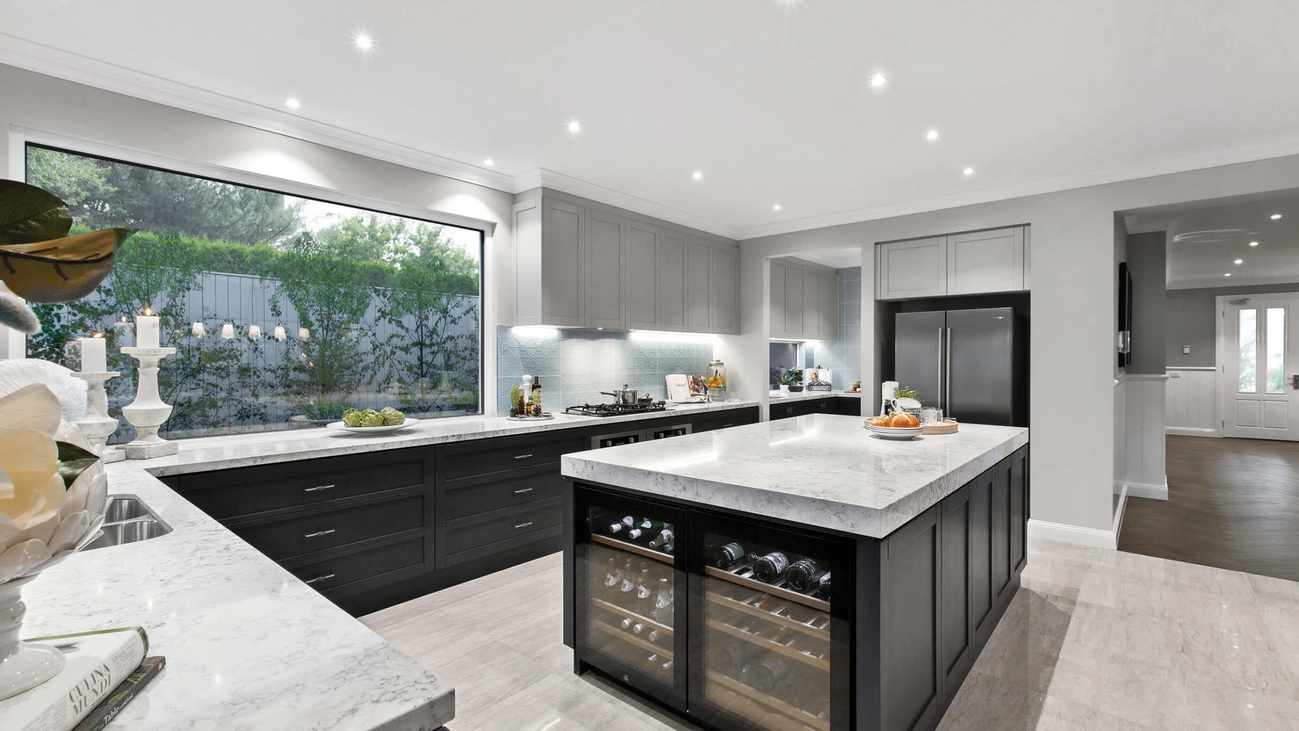 Q&A What is the Kitchen cabinet colour used in the Astor Grange display at Upper Point Cook?